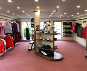 Golf Shop at Howth Golf Club, Dublin, Ireland,