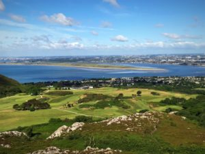 Stunning Howth Golf Club in Dublin Ireland