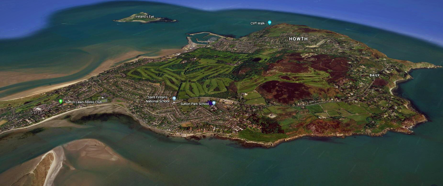 Howth Golf Club Dublin Ireland