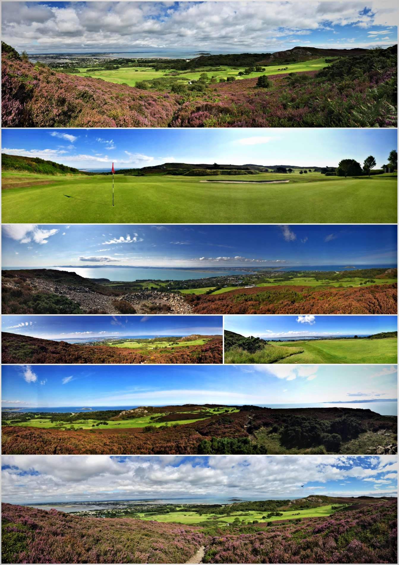 Howth Golf Club Dublin Views
