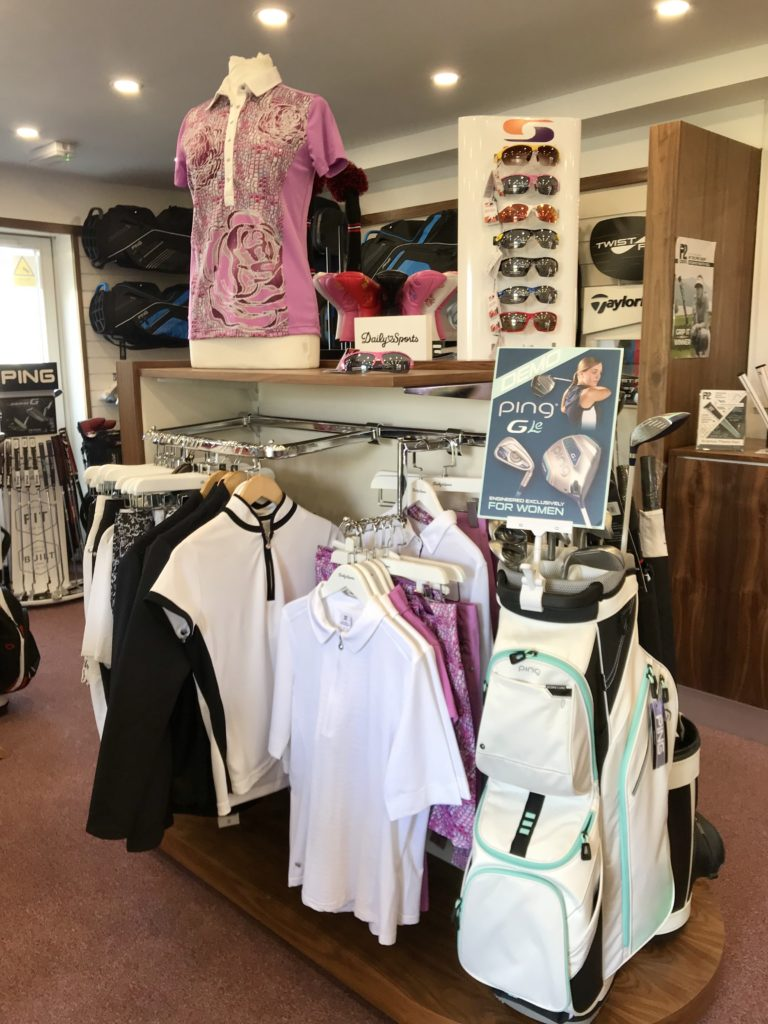 Howth Golf Club shop 2018 Dublin Ireland