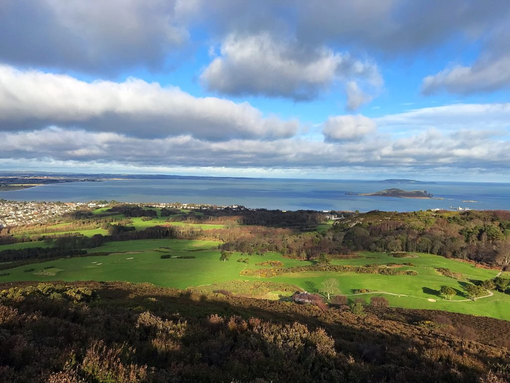 Howth Golf Club in the winter