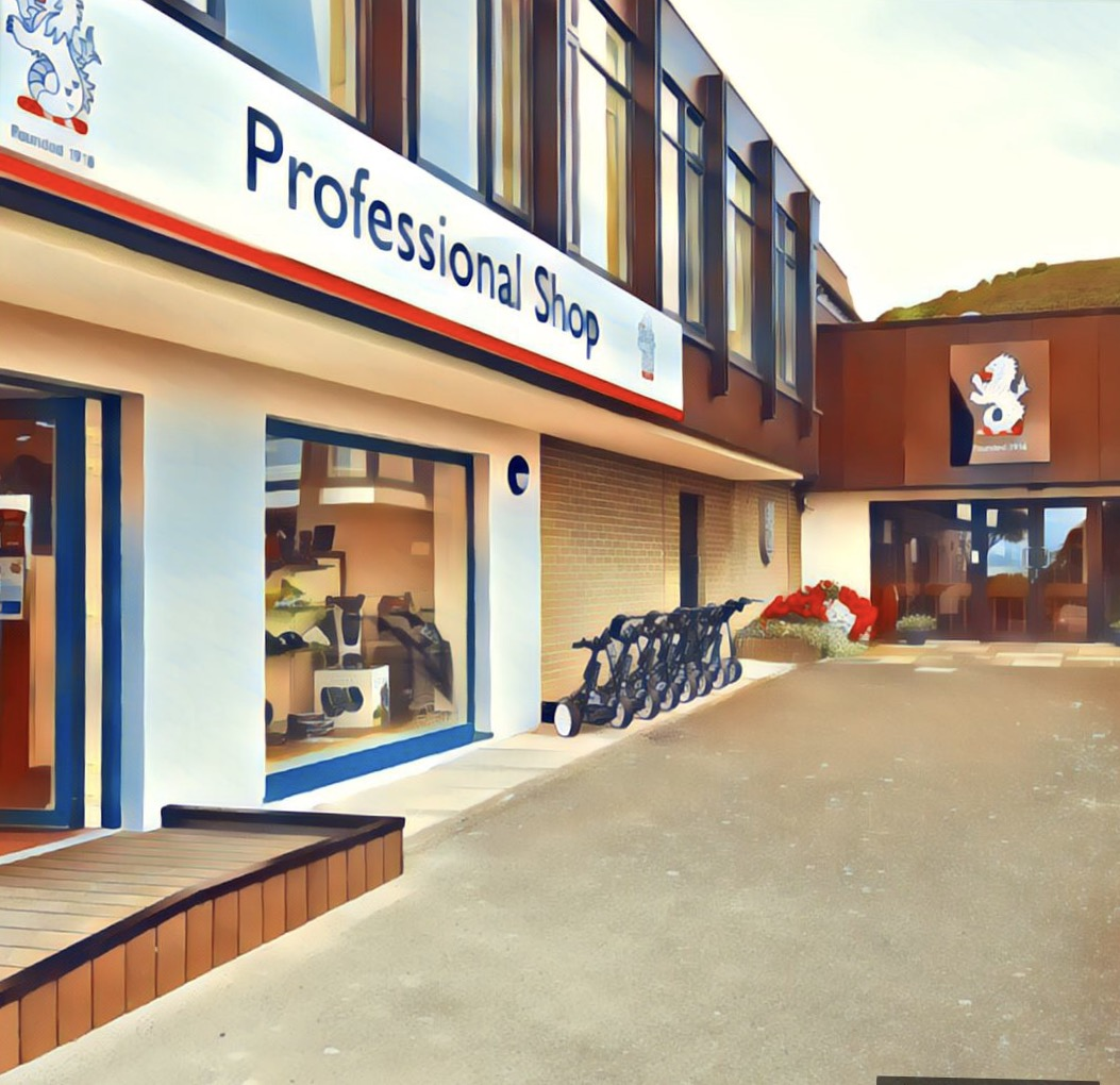 Professional shop - Howth Golf Club Dublin Ireland