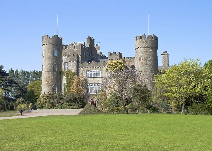 Malahide castle near Howth Golf Club, Dublin Golf Course