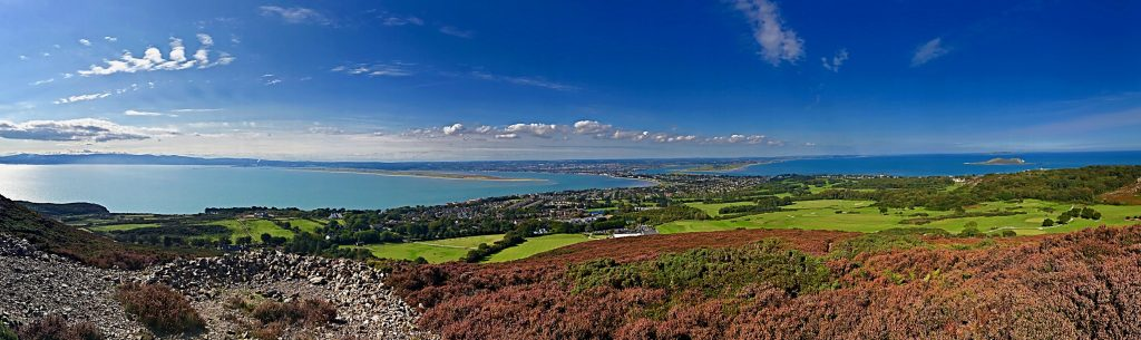 HOWTH GOLF CLUB, DUBLIN GOLF COURSE, IRELAND, LINKS,