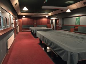 Howth Golf club, Dublin, Ireland, Snooker Room